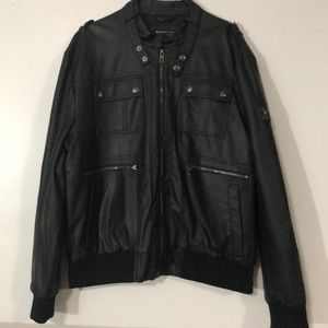 Marc Ecko Cut & Sew Black Jacket XL